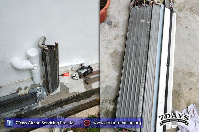 aircon leaking repair