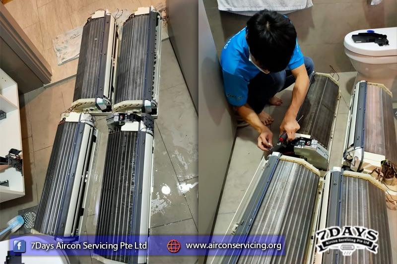 aircon chemical washing
