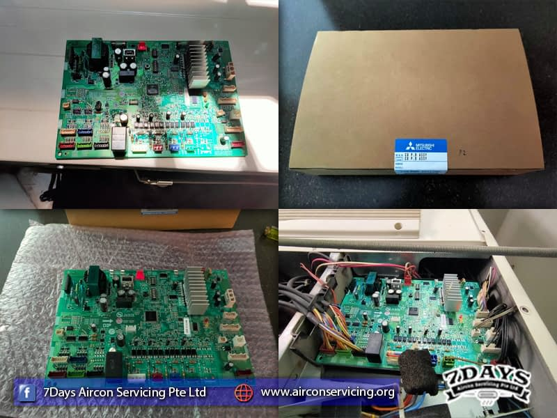 Change PCB in Hillview Residence
