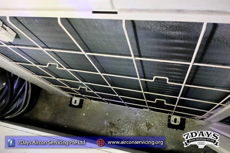 Outdoor compressor wash in Flora Road   ❄️7Days Aircon Servicing Pte Ltd❄️